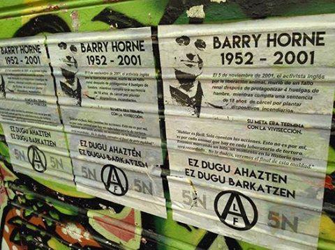 Bilbao: En recuerdo de Barry Horne