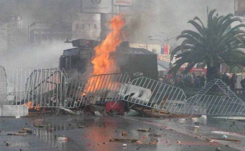 Chile: Marcha 1 de mayo contra la explotación laboral y animal