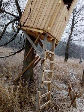 dos Torres de caza destruıdas en Canadá.